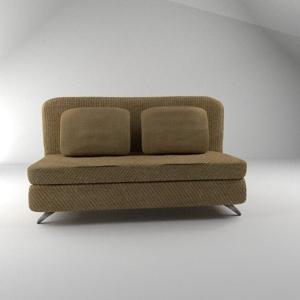 Sofa and Pillows - 3DOcean Item for Sale