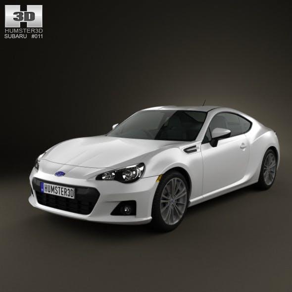 Subaru BRZ 2013 - 3DOcean Item for Sale