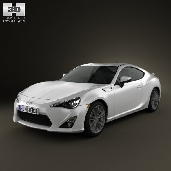 Toyota GT 86 2013 - 3DOcean Item for Sale