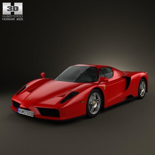 Ferrari Enzo 2002 - 3DOcean Item for Sale