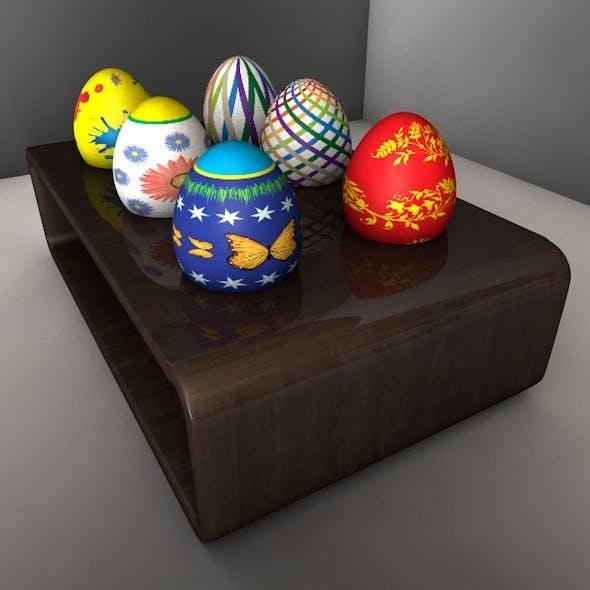 Easter Stone Egg 01