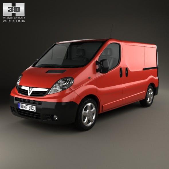 Vauxhall Vivaro Panel Van 2006 - 3DOcean Item for Sale