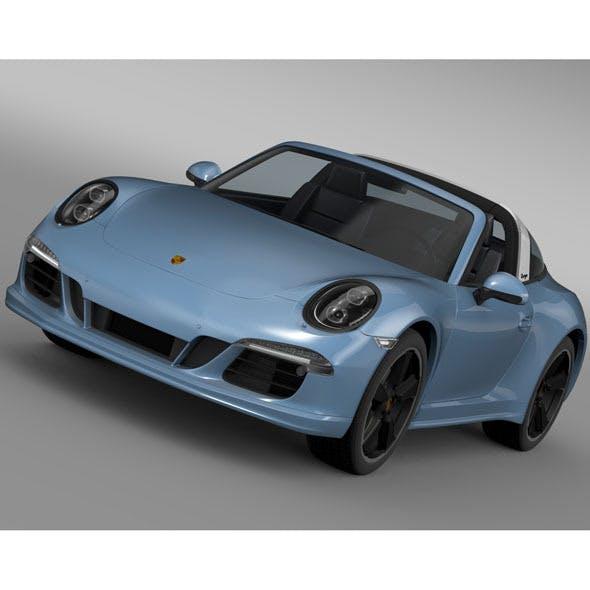 Porsche 911 Targa 4s Exclusive 2015 - 3DOcean Item for Sale