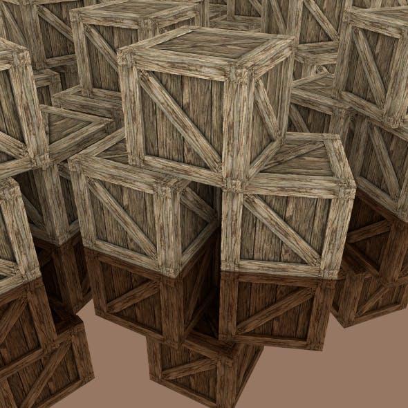 Crates  - 3DOcean Item for Sale