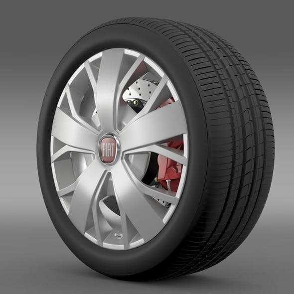 Fiat Ducato Van L2H2 wheel - 3DOcean Item for Sale