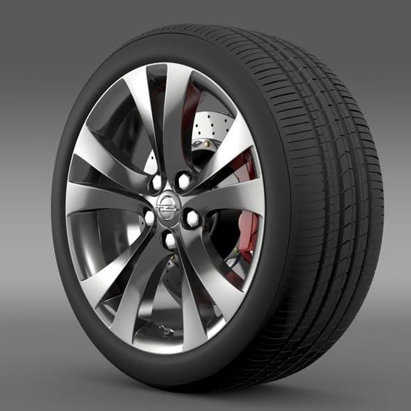 Opel Insignia wheel - 3DOcean Item for Sale