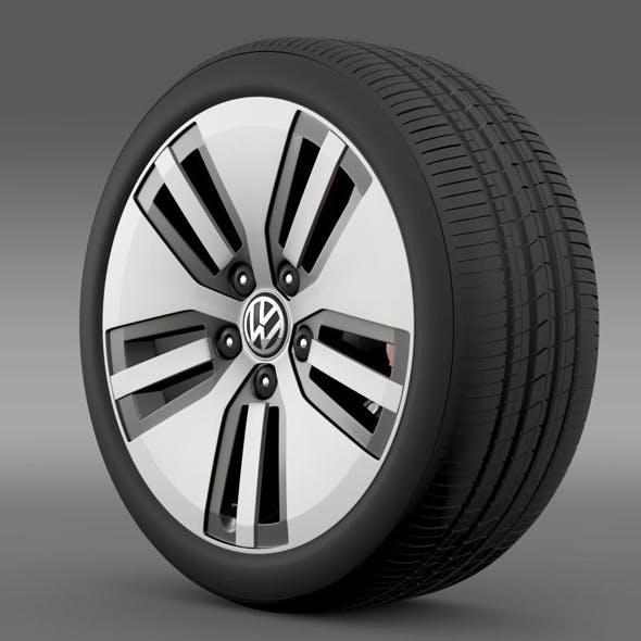 Volkswagen E Golf wheel - 3DOcean Item for Sale