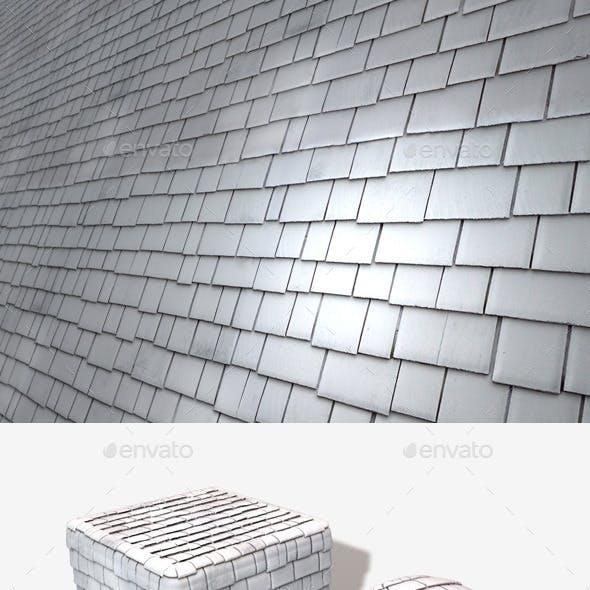 Random Roof Tiles Seamless Texture