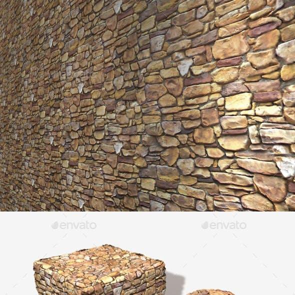 Sandstone Rock Wall Seamless Texture