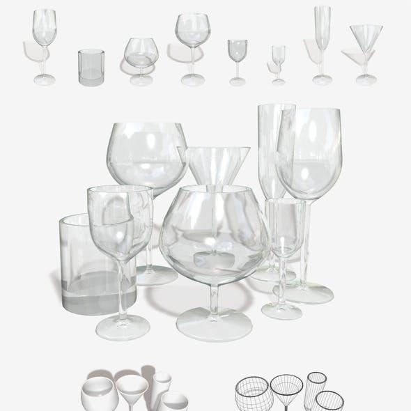 Glassware 8 Types