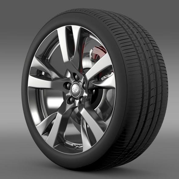 Infiniti M wheel - 3DOcean Item for Sale