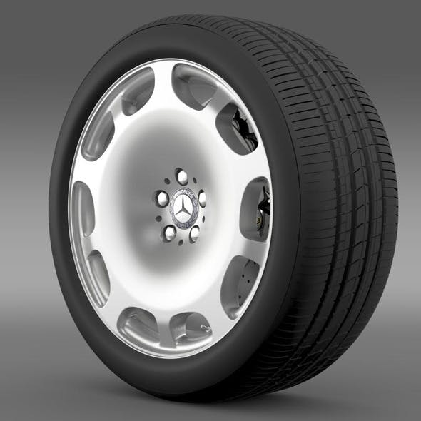 Mercedes Maybach wheel - 3DOcean Item for Sale