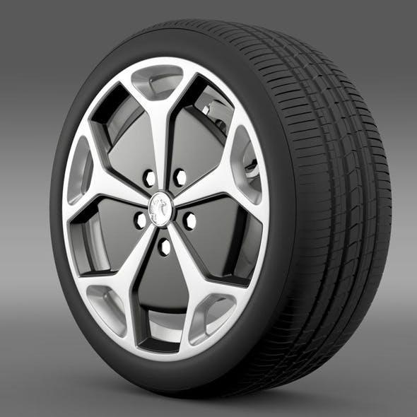 Vauxhall Ampera wheel