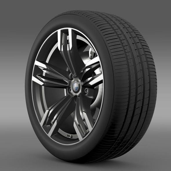 BMW M6 Gran Coupe wheel