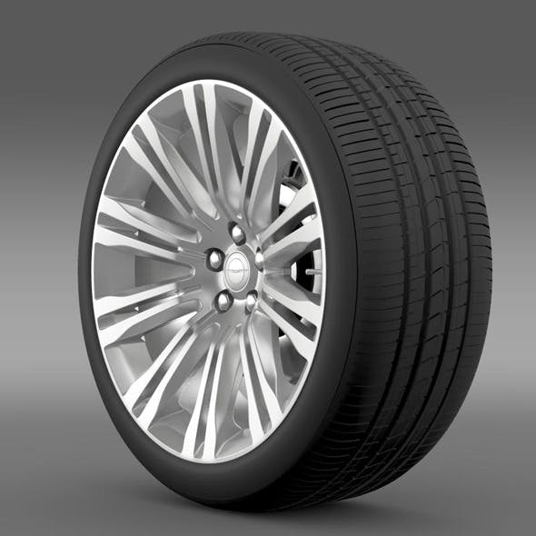 Chrysler 300C 2012 wheel - 3DOcean Item for Sale