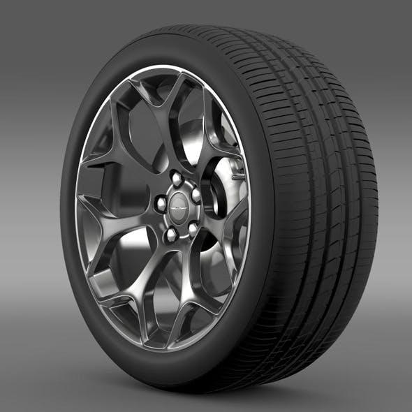 Chrysler 300S 2015 wheel - 3DOcean Item for Sale