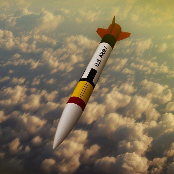 Patriot missile rocket - 3DOcean Item for Sale