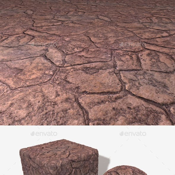 Stone Floor and Wall Seamless Texture