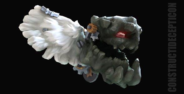 Handpainted Lowpoly  Cog_Troll - 3DOcean Item for Sale