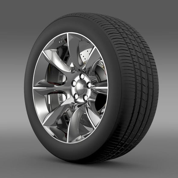 Dodge Challenger SRT wheel