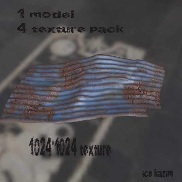 Roof_8 - 3DOcean Item for Sale