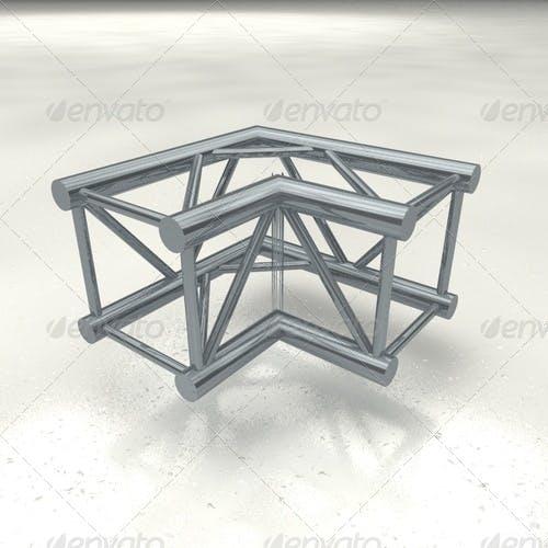 truss quattro corner - 3DOcean Item for Sale