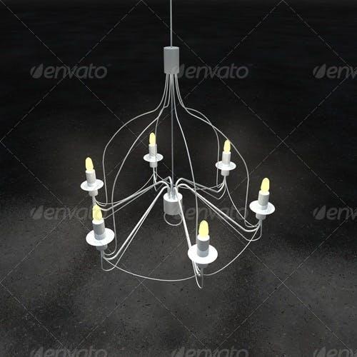 chandelier IKEA - 3DOcean Item for Sale