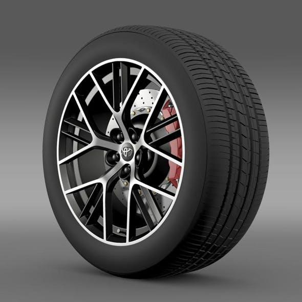 Toyota GT 86 concept wheel - 3DOcean Item for Sale