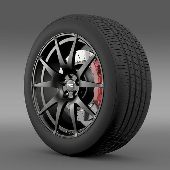 TRD Toyota GT 86  wheel - 3DOcean Item for Sale