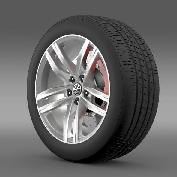 Volkswagen Golf TDI wheel