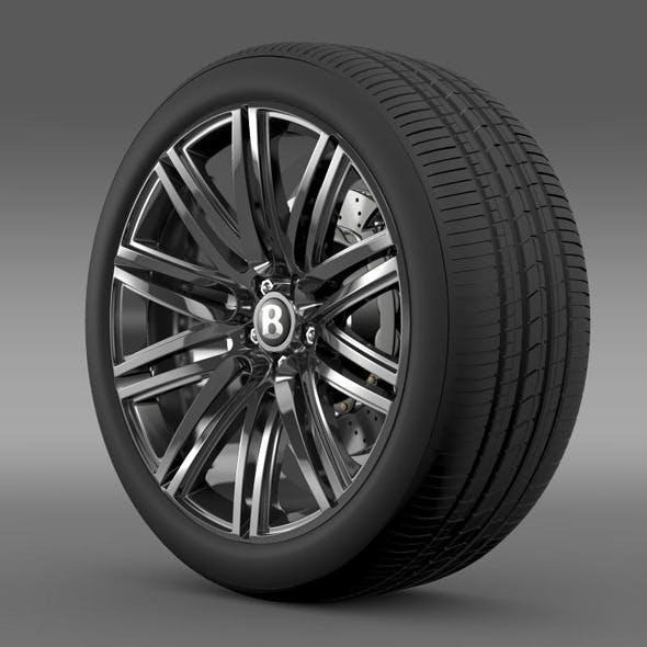 Bentley Continental GT Speed wheel 2014 - 3DOcean Item for Sale