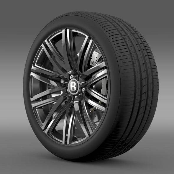 Bentley Continental GT Speed wheel 2014