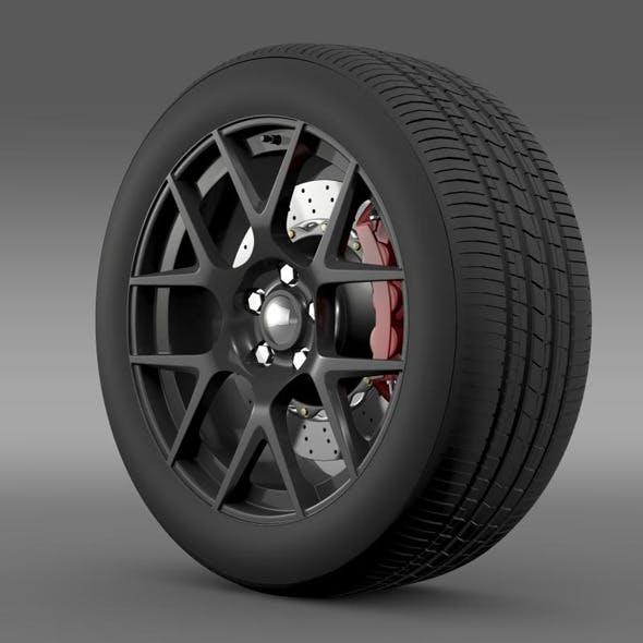 Dodge Challenger RT Shaker wheel 2015 - 3DOcean Item for Sale