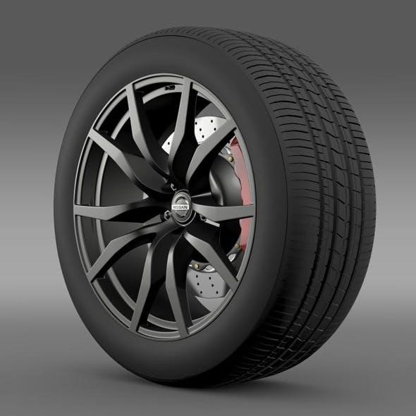Nissan GTR wheel 2015 - 3DOcean Item for Sale