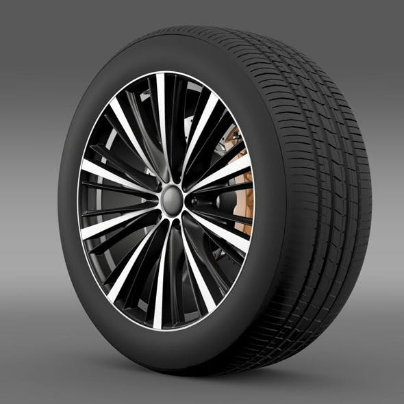 Toyota FT 86 open concept wheel 2014