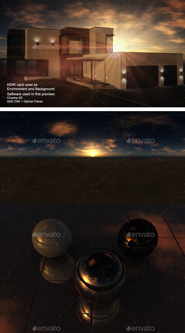 Sunset Desert 15 - 3DOcean Item for Sale