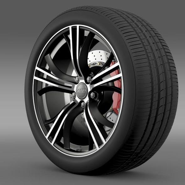 Audi R8 V10 Exclusive wheel