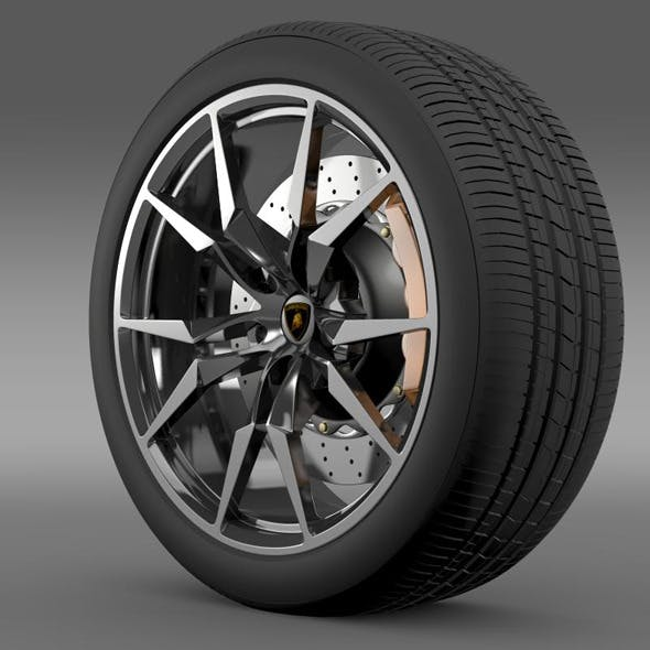 Lamborghini Aventador Roadster wheel