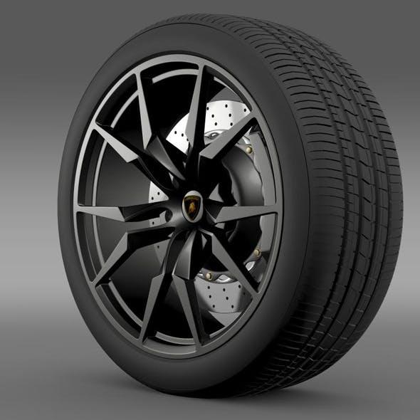Lamborghini Aventador50 AE wheel