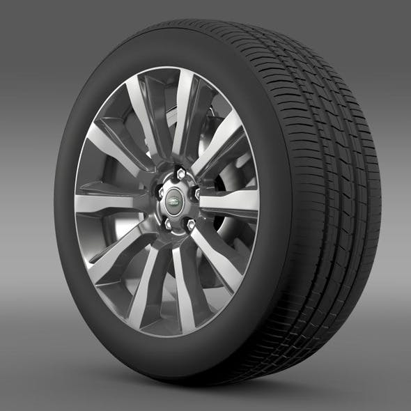 RangeRover Supercharged wheel - 3DOcean Item for Sale