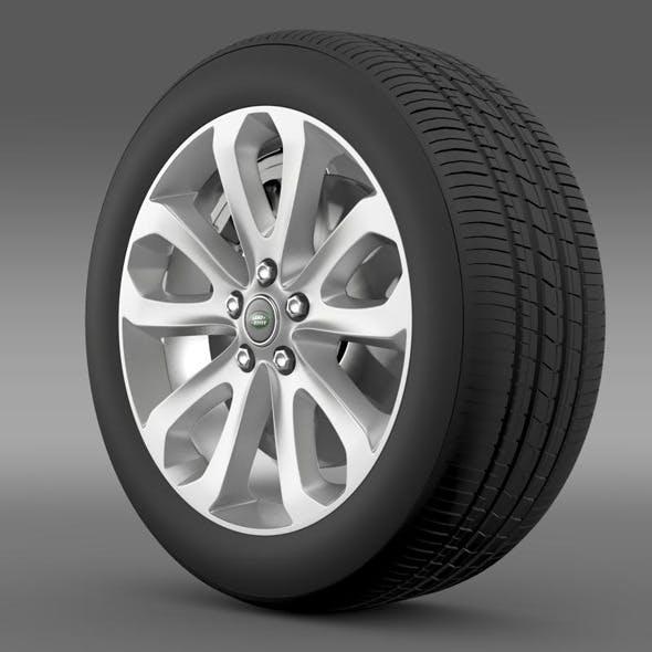 RangeRover Vogue SDV8 wheel - 3DOcean Item for Sale