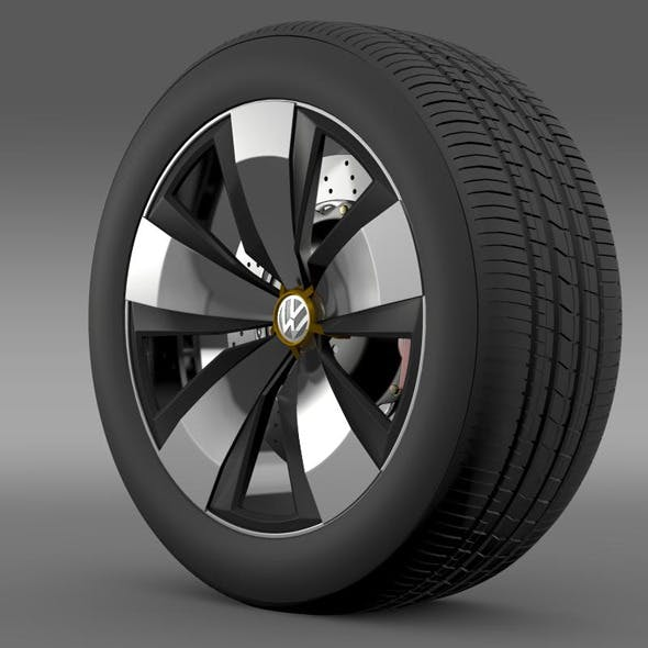 Volkswagen Beetle Dune wheel