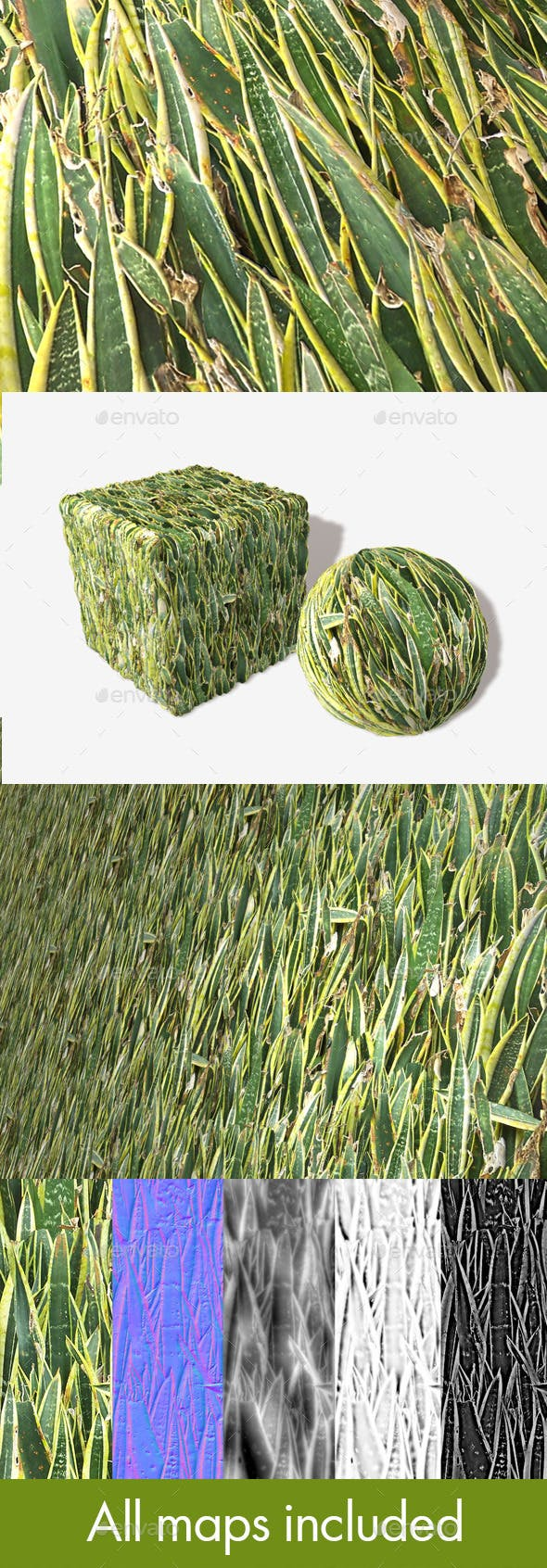Desert Plants Seamless Texture - 3DOcean Item for Sale