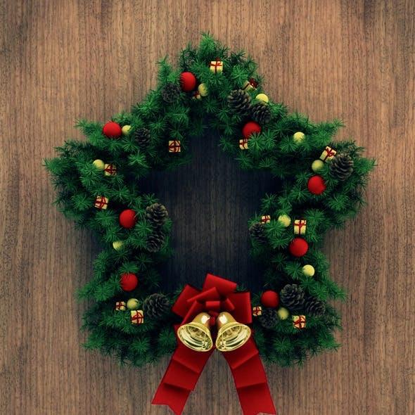 Christmas Door Decoration 03