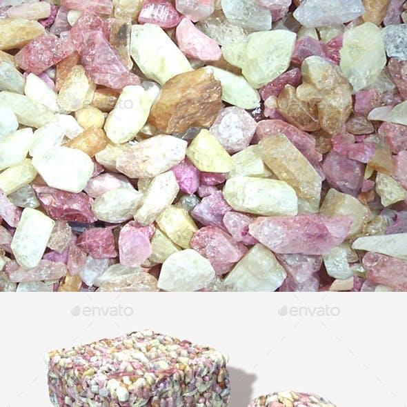 Coloured Precious Stones Seamless Texture