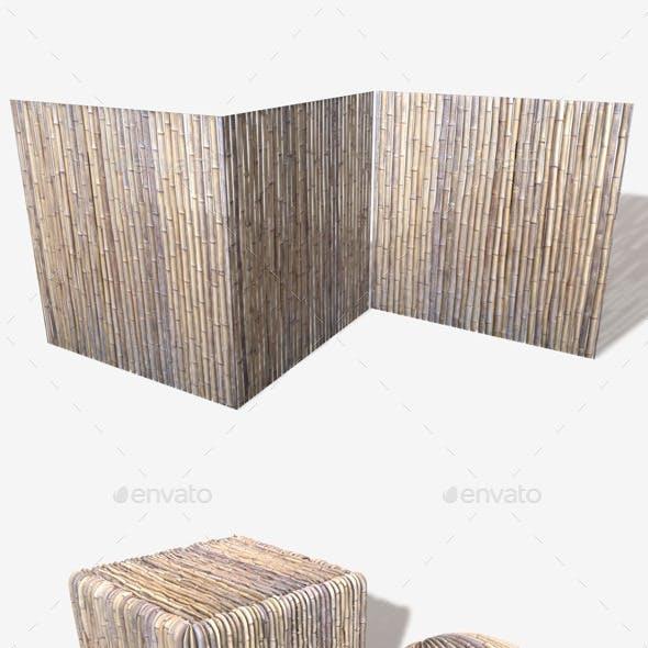 Bamboo Wall Seamless Texture