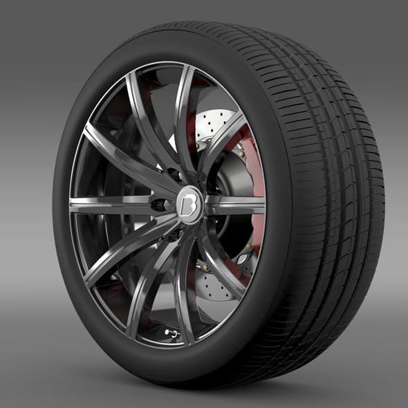 BB Audi R8  wheel