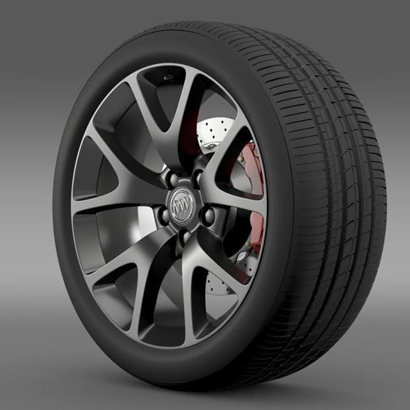 Buick Regal GS wheel - 3DOcean Item for Sale