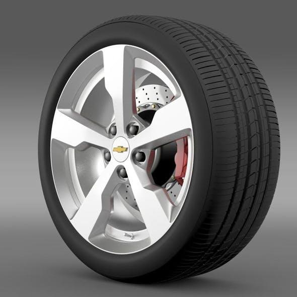 Chevrolet Volt wheel - 3DOcean Item for Sale