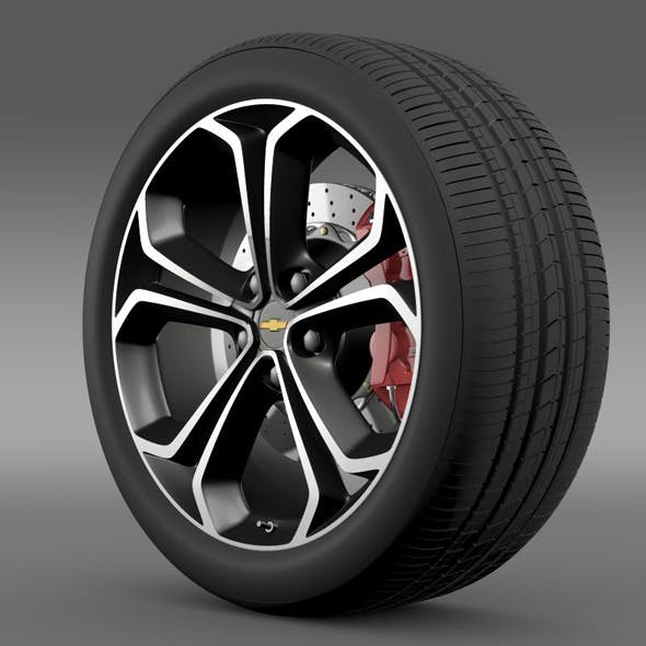 Chevrolet Volt Z spec concept wheel